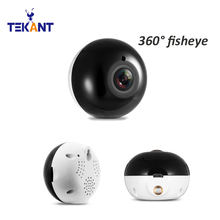 Buy Dome Fisheye IP Camera 960P HD 360 Degree Mini WiFi Wireless Camera 1.3MP Network Home Security IR Panoramic Camera baby monitor for $36.47 in AliExpress store
