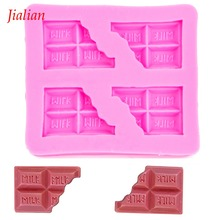 Milk chocolate Shaped Baby DIY fondant silicone moulds confectionery accessories for cupcake decoration Baking tools FT-0014(China)