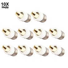 10x Fireproof Material E27 to G9 lamp Holder Converter Socket Conversion light Bulb Base type Adapter(China)