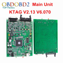 Main Unit KTAG V2.13 K TAG V6.070 ECU Programming Tool K-TAG Master Version No Tokens Limited Multi-Languages Diangnostic Tool