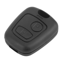 High Quality Replacement 2 Button Remote Key Fob Case Shell Cover For PEUGEOT 206 New(China)