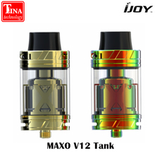 Original IJOY MAXO V12 Tank 5.6ml Option V12-RT6 Deck XL-C4 Coil Electronic Cigarette Atomizer Vaporizer for IJOY Box Mod Vape