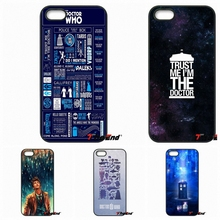 doctor who infographic Design hard Phone Case For Xiaomi Redmi Note 2 3 3S 4 Pro Mi3 Mi4i Mi4C Mi5S MAX iPod Touch 4 5 6(China)