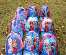 Factory Price DHL100PCS anna elsa princess Baseball cap figures toy