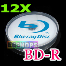Cheap 50GB BD-R DL Recordable Blank Blu-ray Discs 6X 12X 8X Dual Layer Rewritable Printable DVD Disc Lot 25pcs Pack Drive Case