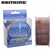 KastKing Hot Sale 300m Nylon Fishing Line 100% Japan Material for Carp Fishing 4LB-30LB 0.10mm-0.50mm Monofilament Fishing Line