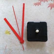Best Price 13mm Shaft with Red Hands for 50PCS Sweep Clock Movement Kit from China