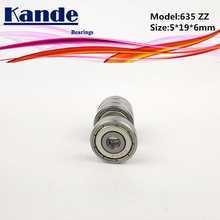 Buy Kande Bearing 635ZZ 10 pcs ABEC-1 635 ZZ Miniature Deep Groove Ball Bearing 5*19*6mm 635 635-2Z for $4.52 in AliExpress store
