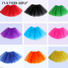 DQ 14 Colors Available Sweetheart Wear Baby Girls Tutu Skirts Chiffon Baby Ballerina Skirt Christmas Gift Candy Color NH0967(China)
