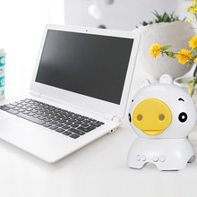Mini Bluetooth Speaker Cute Pig Animal Shape Wireless Speaker Handsfree Portable Loudspeaker Support TF Card Portable For Gift(China)