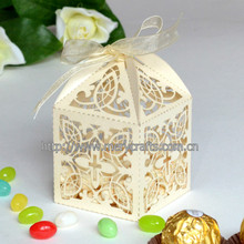 Individuation Hollow Out Paper Cake Favor Boxes Of Wedding Decorations