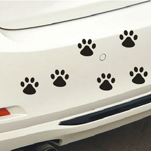 4pcs Warning Signs Car Stickers Baby On Board Dog Stylish Cute Car Stickers Black white sticker free shipping