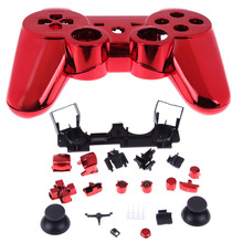 New Wireless Controller Housing Shell Case for Sony PS 3 PS3 Wireless Controller Protector Case Red