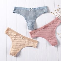 Сексуальное женское нижнее белье, хлопковые трусики-танга, трусики, нижнее белье, женские трусы-шортики, штаны для интимных девушек, с низко...