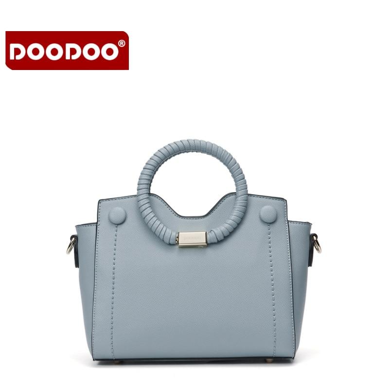 DOODOO Women Genuine Leather Handbags Fringe Women Messenger Bags Crossbody Designer Handbags High Quality Bolsa Femininas T596<br>