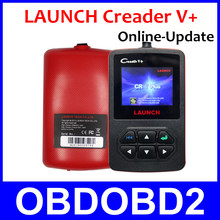 Online-Updated LAUNCH CReader V+ Read & Erase DTCs Codes Clean Scanner Portable CR V Plus Supports ISO Protocols Multi Languages