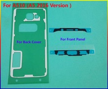 20set/lot Original Front Frame Sticker + Rear Back Cover case Door Adhesive For Samsung Galaxy A510 ( A5 2016 Version) Tape Glue