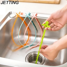 3Pcs Bathroom Shower Toliet Slow Removal Clog Hair Tool Dredge Tools 1PCS New Kitchen Snake Fixed Sink Tub Pine Drain Cleaner