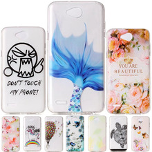 For LG X Power 2 Case 5.5 inch Funny Soft TPU Clear Silicone Back Cover For LG K10 Power / X Power2 M320 M320N Case Phone Cases
