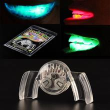 1 PC Colorful Flashing Flash Brace Mouth Guard Piece Light-Up Festive Party Supplies Glow Tooth Funny LED Light Up Toy