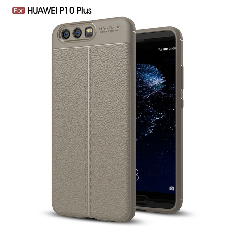 TIKONO Case For Huawei P10 Plus Cover Silicon TPU Luxury Leather Slim Soft Protective Cell Phone Cases for Huawei P10 Plus Case 7