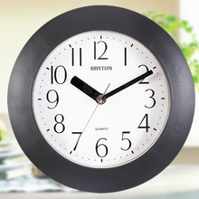 Fashion wall clock, waterproof bathroom kitchen wall clock, the bedroom a study creative hung dual clock.