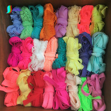 Colorful Elastic Lace Webbing Underwear Edge Material For DIY Garment/Clothes Sewing Webbing Ribbon Headband 48M/lot S0079H