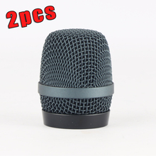 2PCS High Quality Export Version Dent-Resistant Ball Head Mesh Microphone Grille for Sennheiser e935 e945 Accessories