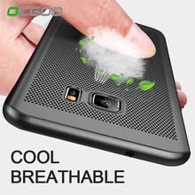 OICGOO Heat Dissipation Case for Samsung Galaxy S7 Edge S7 Case Luxury Shockproof Back Cover For Samsung NOTE 8 S8 Plus S6 Edge(China)