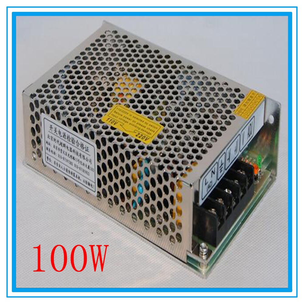 DIY CNC engraving machine switching power supply 100W 24V S-100-24, 4.5A 57 stepper motor laser engraving machine power supply<br><br>Aliexpress