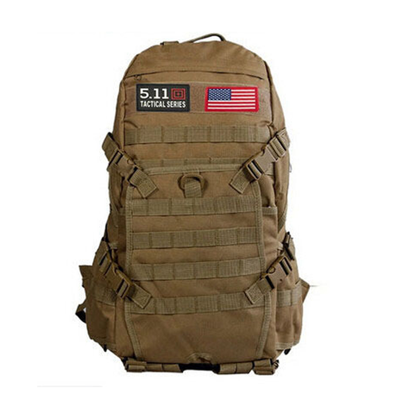 Hot Sale!!! TAD Men Military Backpack Molle Camouflage Travel Bags 40L Waterproof Nylon Bags Multi-function Laptop Backpack<br>