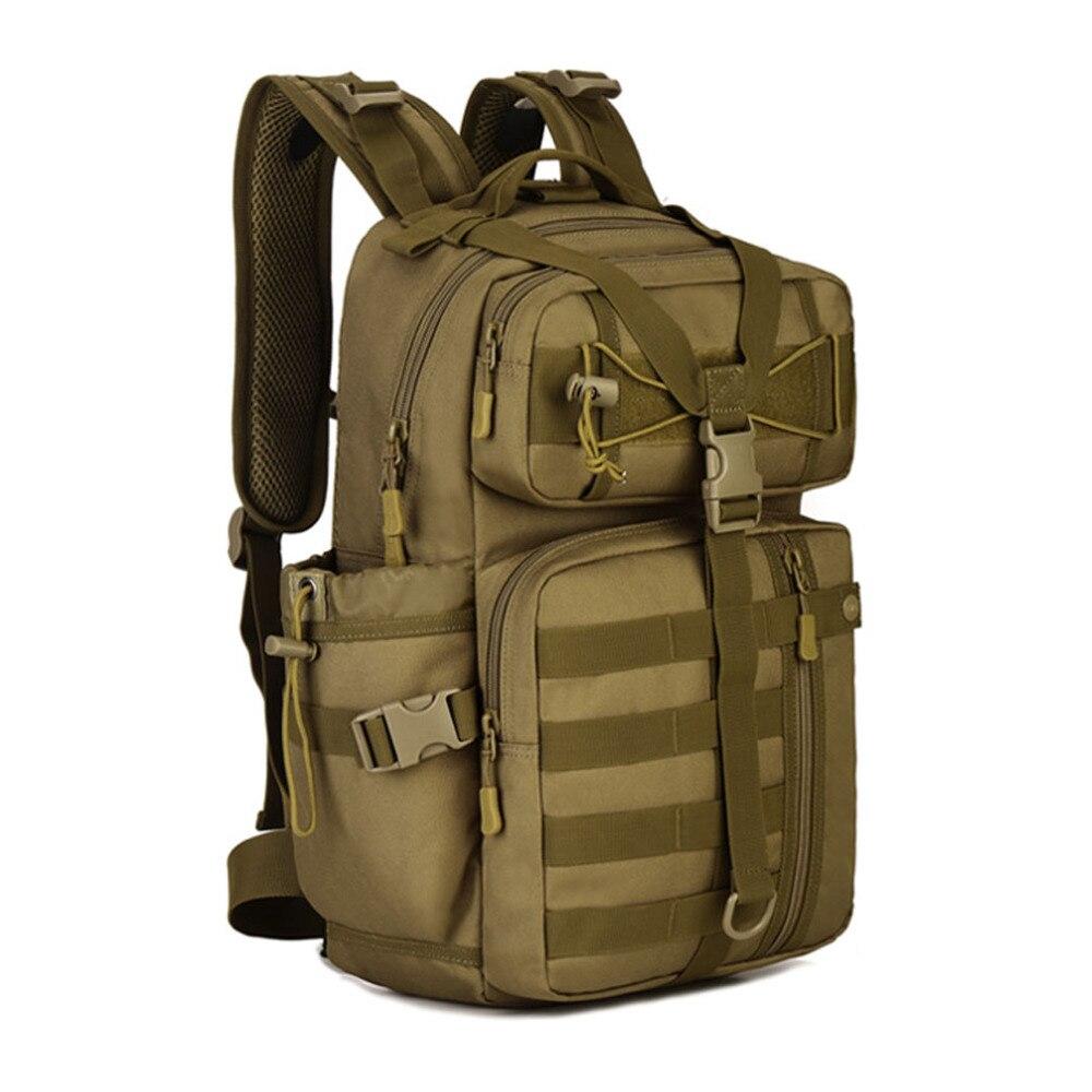 Top Quality New Men urable Nylon Shoulders Backpack Military Travel Riding Bag mochila Backpacks<br>