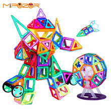 MIPOZOR 228Pcs Mini Size Magnetic Designer 3D Model Building Enhance Intellectual Development and Creativity Blocks Toys MDS228(China)