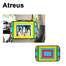 Atreus Car seat back trunk phone ipad computer holder for Bmw e46 e39 e60 e90 Audi a4 b6 a3 Mercedes W211 W203 W204 W210 Styling