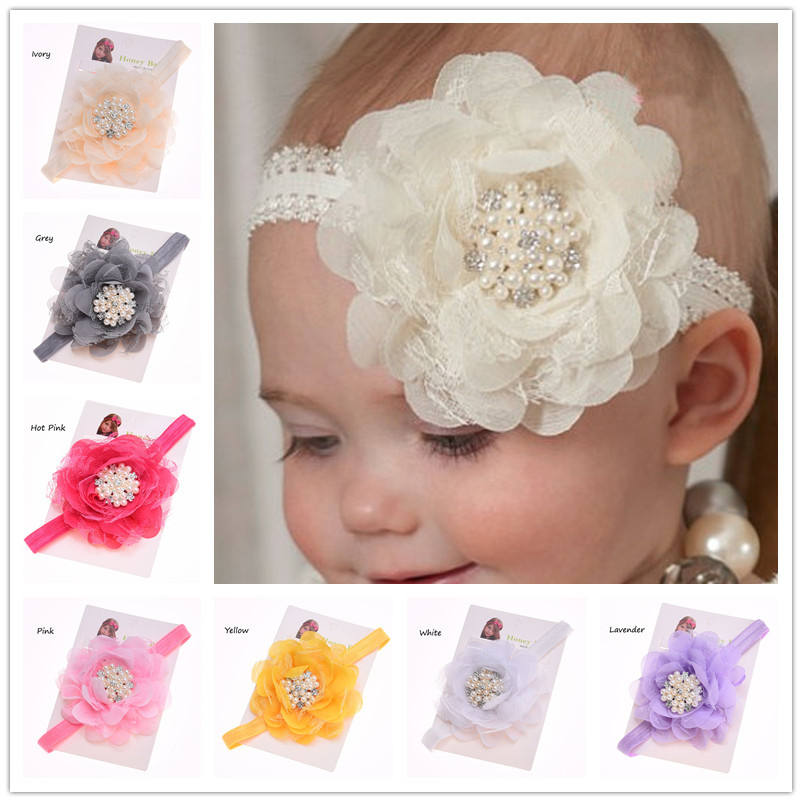 Flower Crown Grey Headband Wedding Hair Girls Hair Accessories Christening Headband Baby Bows Christening Small Rose Headband