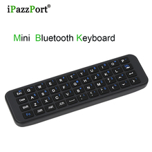 5pcs brand Mini Wireless Fly Mouse Remote Control Protable handheld Bluetooth Full QWERTY Keyboard for Apple TV4 Android TV Box(China)