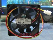 Free shipping cooler master A7020-30RB-3AN-P1 12V 0.19A 7CM 7020 cooling fan 3 lines 70X70X20MM(China)