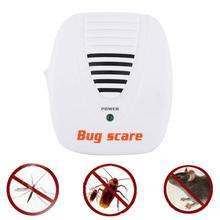 Electronic Ultrasonic Mouse Mosquito Insect Repellent Bat Worm Pest Control Repeller Bug Scare Machine Home Mousetrap #12723