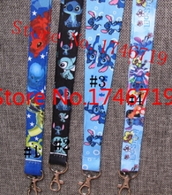 Free Shipping 500 Pcs Popular Mix Stitch  key chains Mobile Phone Neck Straps Keys Camera ID Card Lanyard  T-88