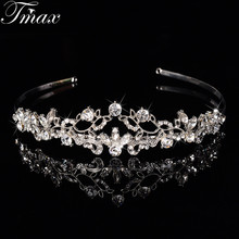 2016 New Elegant Design Top Austrian Tiaras Crowns for Women Fashion Hair Jewelry Bridal Hair Accessory Bijoux femme Gift F020