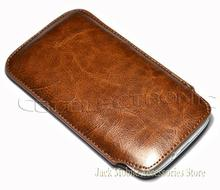 New High quality  PU leather Brown Case Pull Pouch Sleeve for LG G2 D802 D803 D802TA