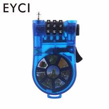 EYCI Portable Retractable Bike Bicycle Combination Cable Code Lock Helmet Luggage Safety 3 Digit padlock Bicycle Password(China)