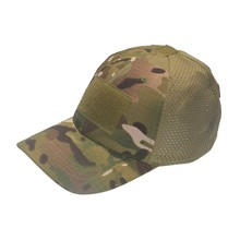 Summer Outdoor Mesh Breathable Sunscreen Hat Tactical Cap Magic Stick Personality Climbing Cap Newest(China)