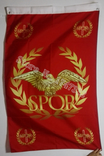 Western Roman Empire Senate People of Rome SPQR History Flag hot sell goods 3X5FT 150X90CM Banner brass metal holes