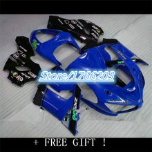BBF Wholesale - Aftermarket Fairing kit for KAWASAKI Ninja ZX6R 05 06 ZX 6R 2005 2006 ZX-6R 636 05-06 blue black ABS Racing