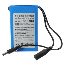 High Quality Super Rechargeable Protable Lithium-ion Battery D C 12V 4000mAh With Plug