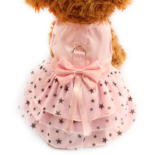 Armi store Black Star Pattern Summer Dog Dress Dogs Princess Dresses 6071033 Pet Pink Skirt Clothing Supplies XXS XS S M L XL(China)