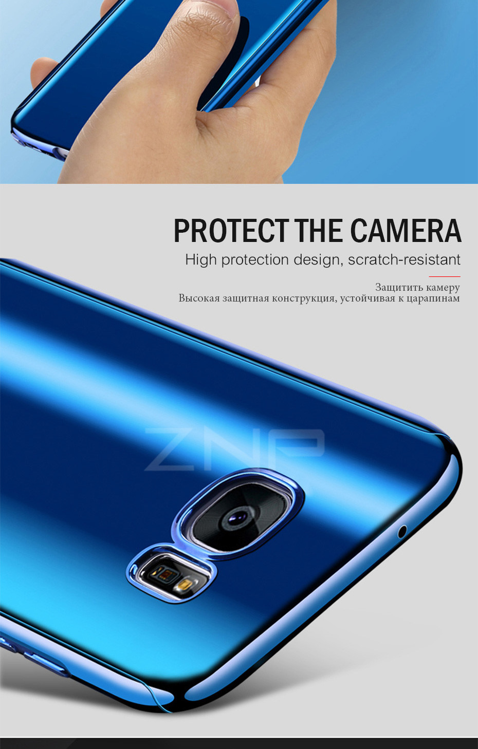 ZNP Luxury 360 Full Phone Case For Samsung Galaxy S9 S8 Plus Note 8 Bling Mirror Cover Cases For Samsung S7 Edge S9 S8 S7 Case 8