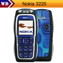 hot Sale cell phone Original Nokia 3220 Unlocked GSM900/1800/1900 Cheap Mobile Phone