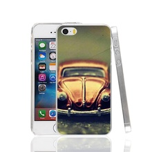 01107 old car Cover cell phone Case for iPhone 4 4S 5 5S SE 5C 6 6S 7 Plus